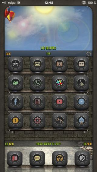 Download Desire Black Glyph ios10 1.2