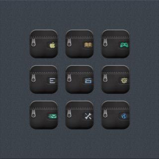 Download Desire Black zipper CustomFolders i6 plus 1.0