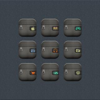 Download Desire zipper Foldericons i6 plus 1.0