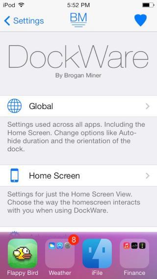 Download DockWare (iOS 8) 1.1.1-1