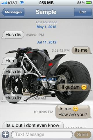 Download Ducati Sports Black SMS Theme 1 1.0