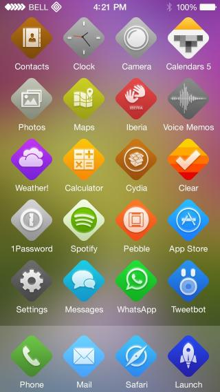 Download Dymond iOS 7 - Wallpapers 1.0