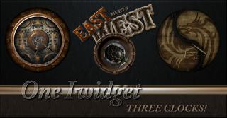 Download East Meets West Multi-Clock iWidget 1.0-1