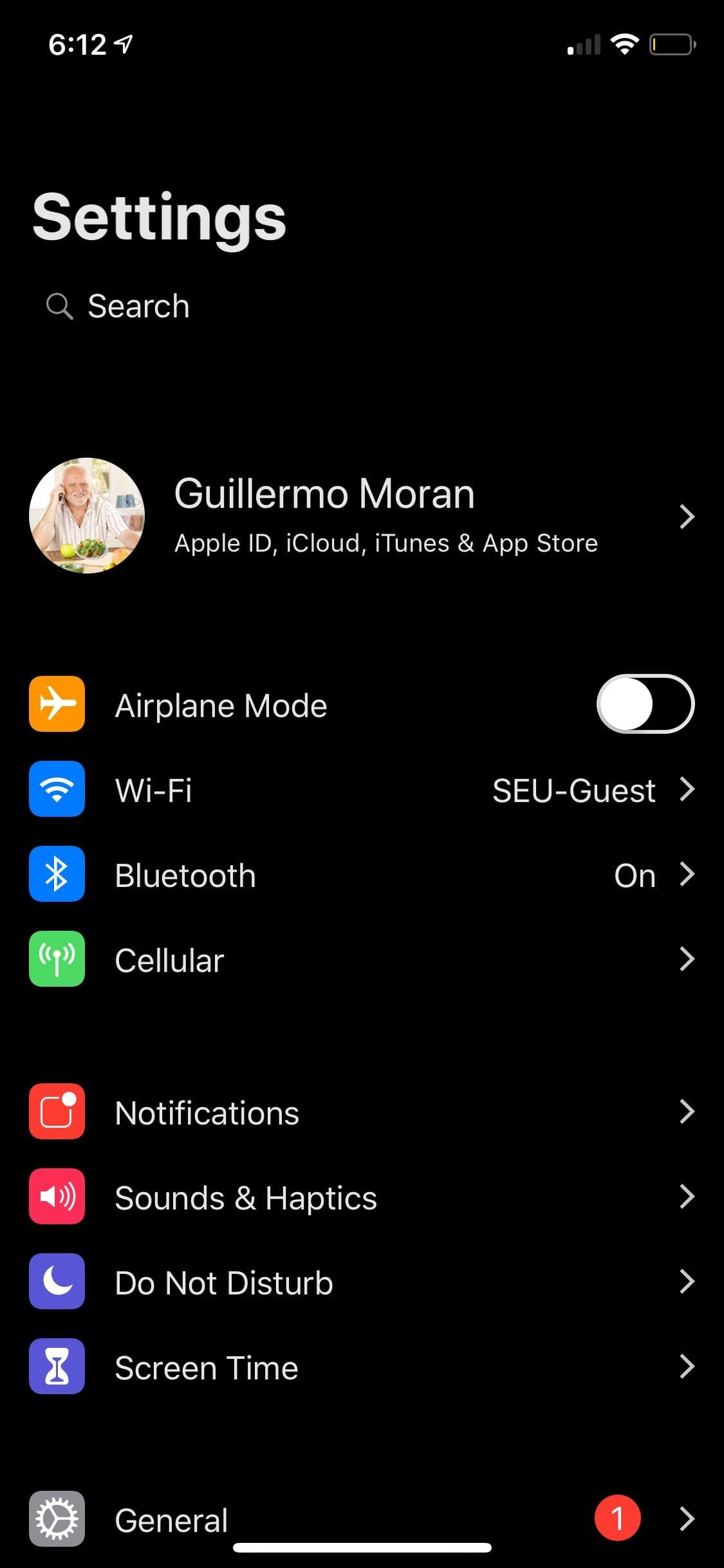 Download Eclipse Dark Mode iOS12 6.1.2-2