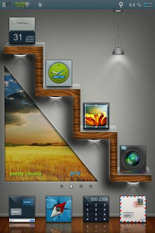 Download edgy HD daddykool Widget Pack One 1.0