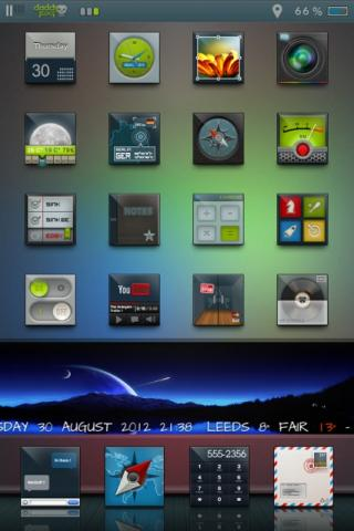 Download edgy HD daddykool Widget Pack Two 1.0