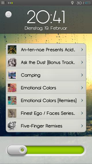 Download edgy HD PowerMusic Skin 1.0