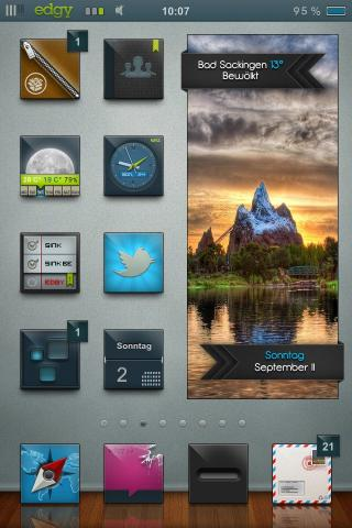 Download edgy HD schnedi iWidget Pack 1.0