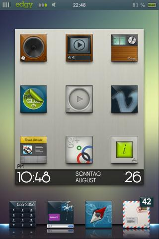 Download edgy HD sriozzz Widget Pack 1.0