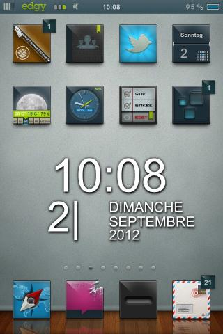 Download edgy HD Zooropalg iWidget Pack 1.0