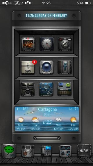 Download Era Mini UniAW iwidget i55s ios7 1.1