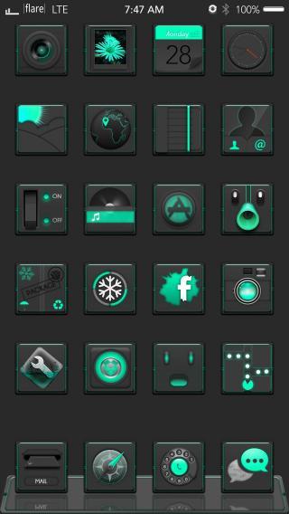 Download F1are dark mint green 1.0