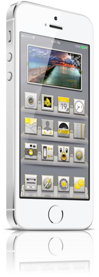 Download F1are yellow Uniaw weather iwidget 1.0