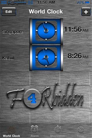 Download F4Rbidden BLUE 1.0