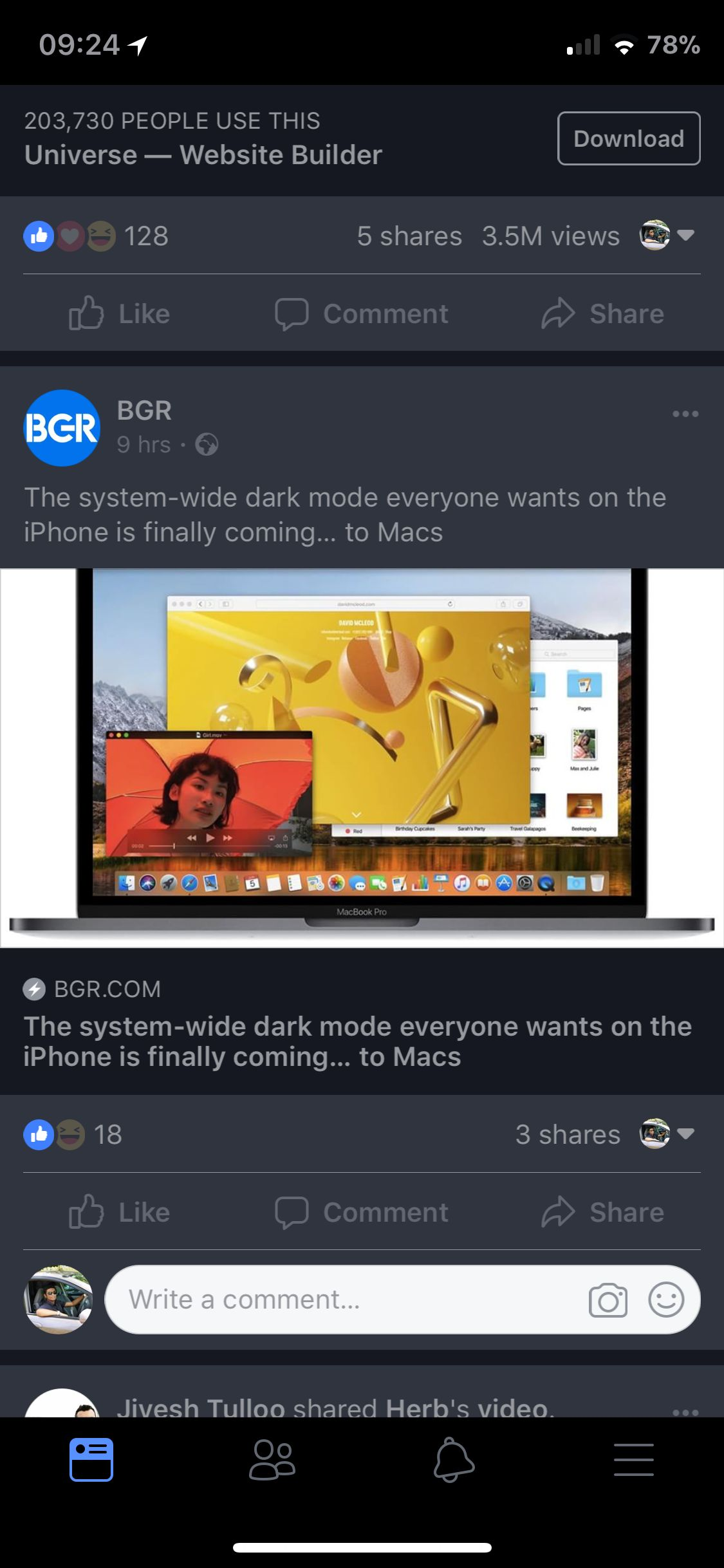 Download FacebookDarkMode 2.3.4k