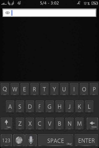 Download Faith HD/SD - Black Color Keyboard 1.2