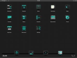 Download Faith iPad Black & Cyan 1.0-1