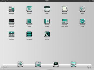Download Faith iPad White & Cyan 1.1
