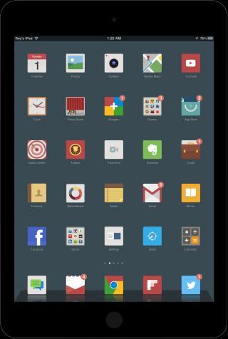 Download FlatNeue for iPad 1.0