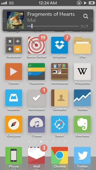 Download FlatNeue MiniPlayer 1.0-1