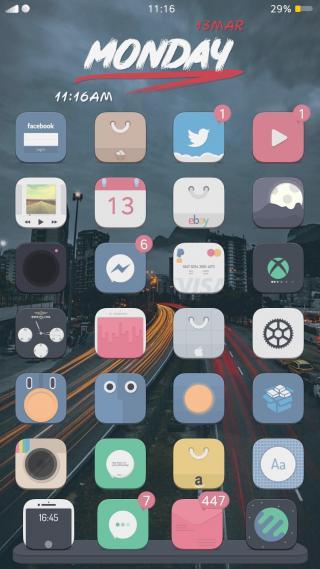 Download Flatty Theme 1.0