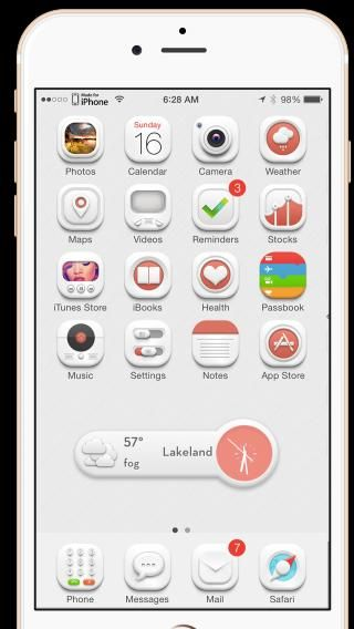 Download Flawless HD iOS8 iWidgets Pack 1.0