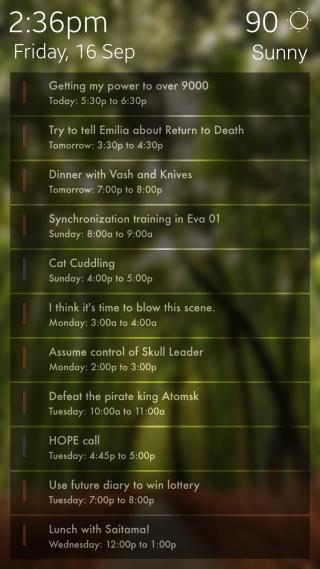 Download Full Screen Agenda For LockPlus 1.1