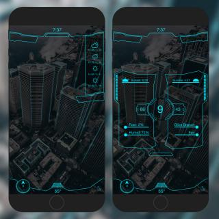 Download Futuristic 9 Cydget 1.0