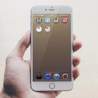 Download Gentleman iOS9 FolderIcons Pack 1.0