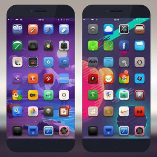 Download Gentleman iOS9 IconOLongShadow Natif 1.0