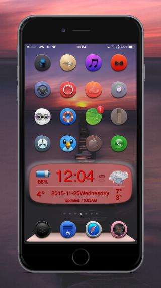 Download Gentleman iOS9 iWidgets 1.0