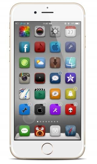 Download Gliese 8 FolderIcons i6+ 1.1