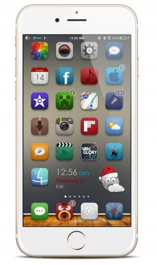 Download Gliese 8 Xmas iWidget 1.0