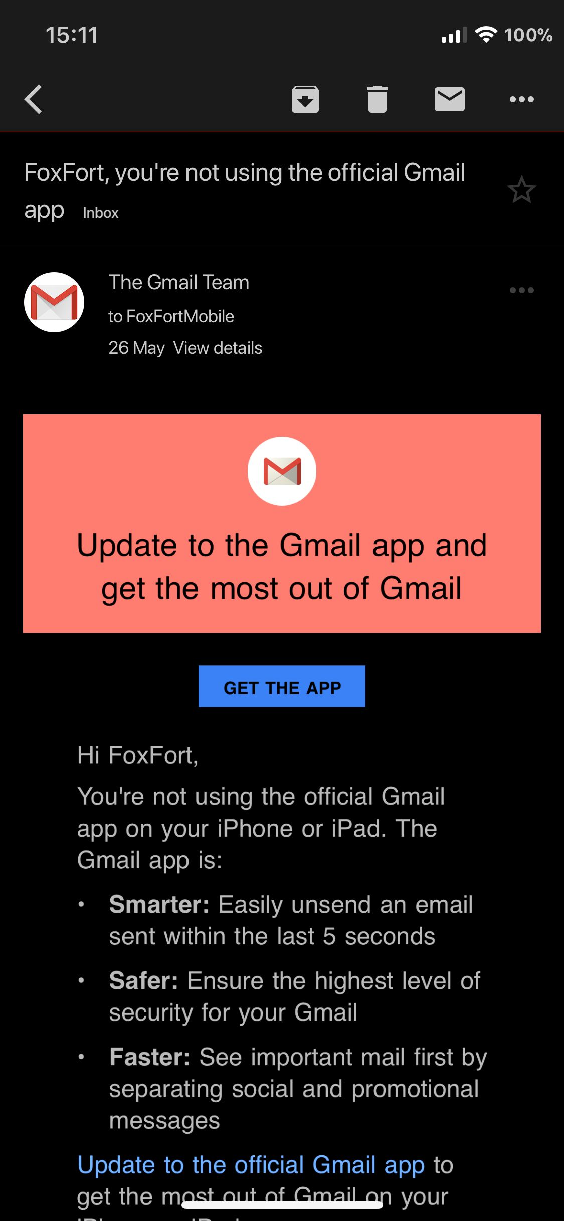 Download Gmail Midnight 1.1.2
