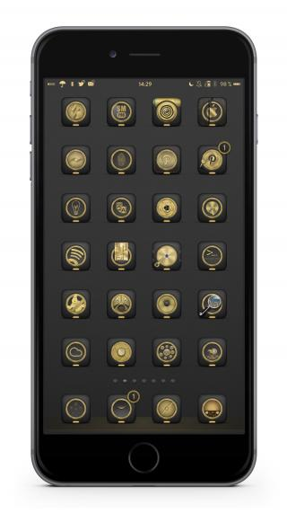 Download Golden Anemone Badges 1.1