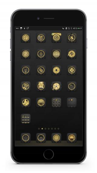 Download Golden Anemone FolderIcons 1.1