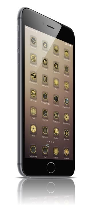 Download Golden iOS8 i5 Wallpapers 1.0