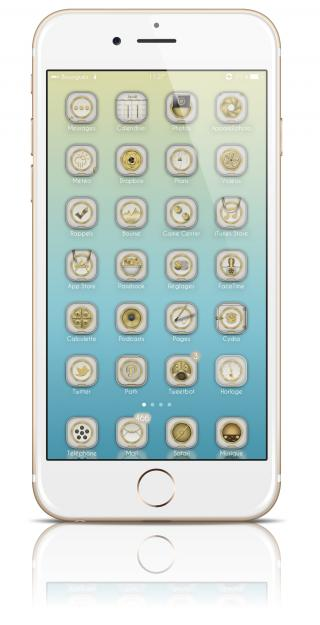 Download Golden White Patch iOS8 1.0a