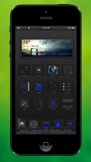 Download GraN1gHt Alt Blue 1.0