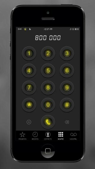 Download GraN1gHt iOS8 Yellow 1.0
