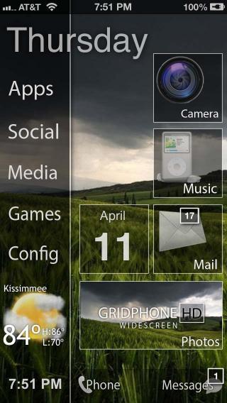 Download GRIDPHONE HD WIDESCREEN 1.8.1