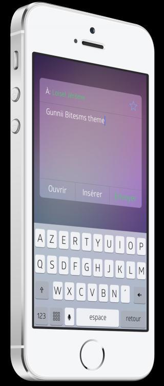 Download Gunnii Bitesms theme 1.0-1