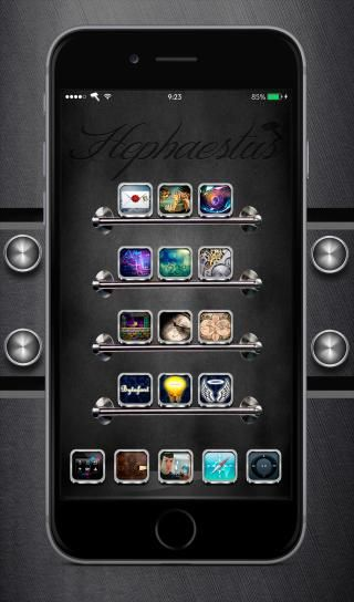 Download Hephaestus iOS 8 HD Theme 3.2