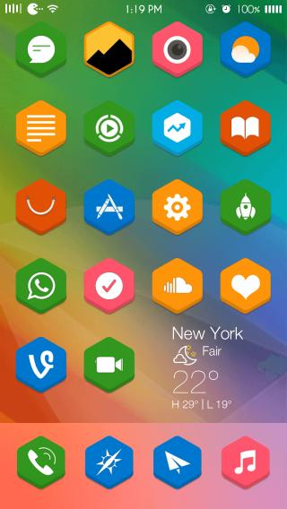 Download hexagon9 iWidgets 1.0