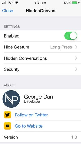 Download HiddenConvos Pro 1.4.1