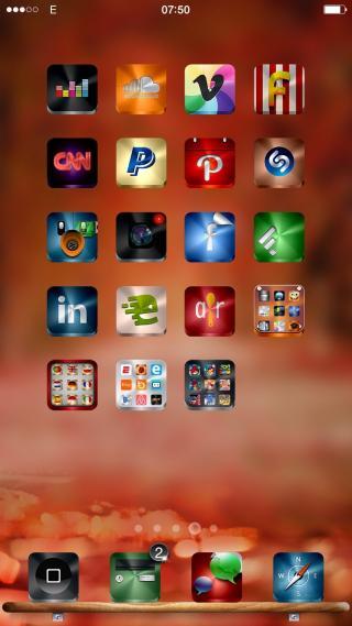 Download Hiro iOS8 MagicDots 1.0