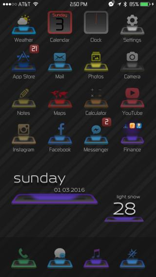 Download Hologram+ Icons 1.0