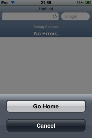Download Home Button in Safari 1.0