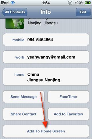 Download Homescreen Contacts 1.1-1
