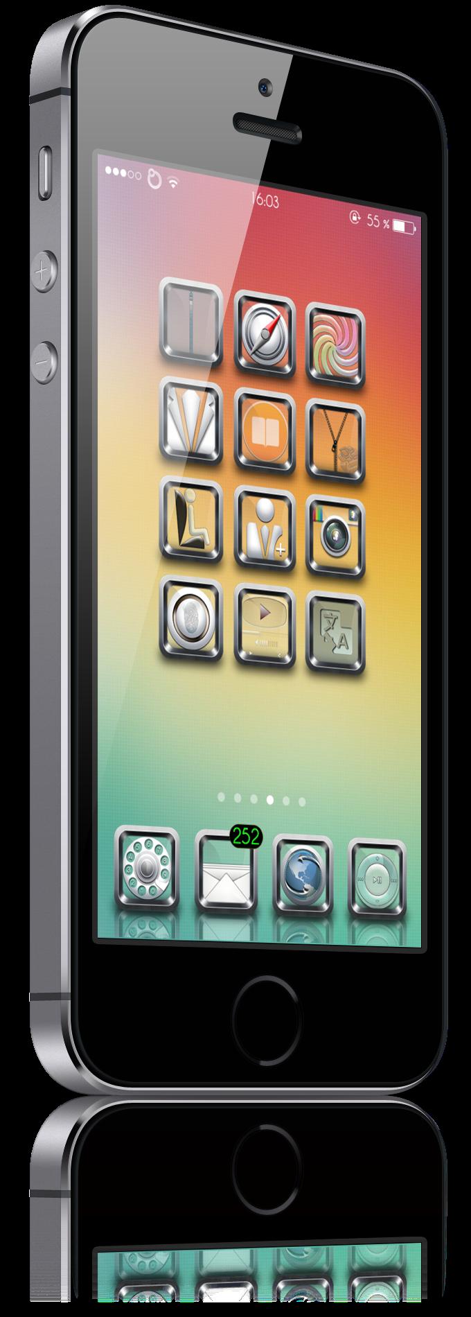 Download Original Steel IconOmatic 1.0